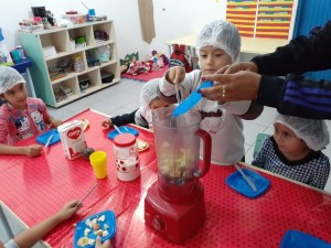 Alimentação saudável é tema de projeto na EM José Belarmino Sobrinho