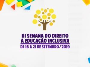 Prefeitura de Ubatuba promove a III Semana do Direito à Educação Inclusiva