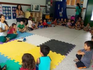 CEI Sumaré promove aula de Yoga para os pequenos