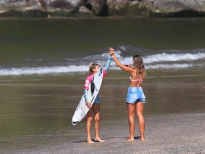 Surfe Feminino domina Itamambuca no fim de semana