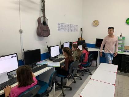 EM Maestro Pedro lança jornal com alunos dos 5° anos