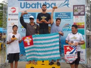 Representantes de Ubatuba dominam pódios do 22º Circuito de Águas Abertas