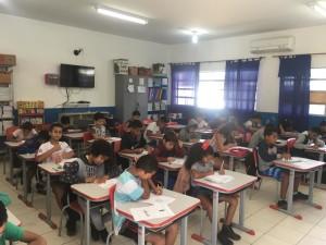 Escolas municipais realizam Avaliação Diagnóstica em alunos do 5° ano