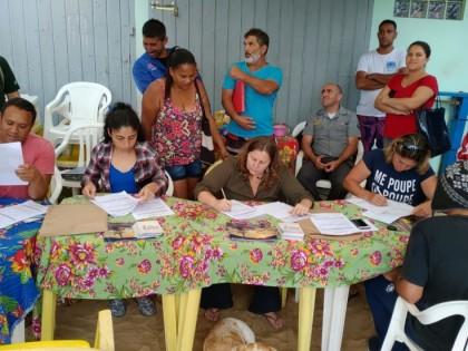 Vila Picinguaba promove cadastramento de barqueiros