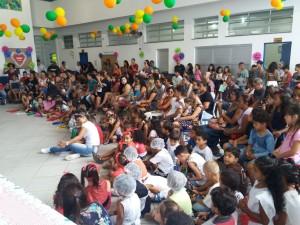 Atividades artísticas e culturais marcam dia da família na EM Belarmino