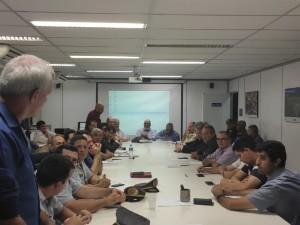 Ubatuba participa de reunião na secretaria estadual de Logística e Transportes