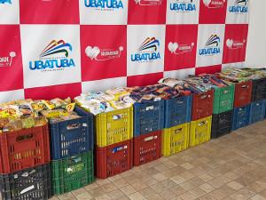 Eventos em Ubatuba arrecadam mais de uma tonelada de alimentos