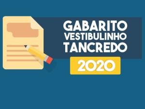 Confira o gabarito do Vestibulinho Tancredo 2020