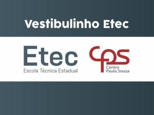 Inscrições para Vestibulinho Etec 2021: prorrogadas até 17 de dezembro