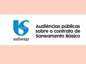 Prefeitura realiza audiências públicas sobre contrato com a Sabesp