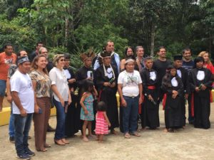 Primeira turma de alunos da escola indígena da Aldeia Boa Vista conclui Ensino Médio