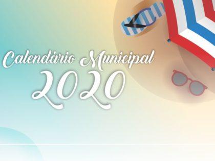 Prefeitura de Ubatuba divulga calendário oficial do município para 2020