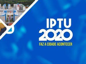 Boleto para pagamento do IPTU 2020 já pode ser impresso