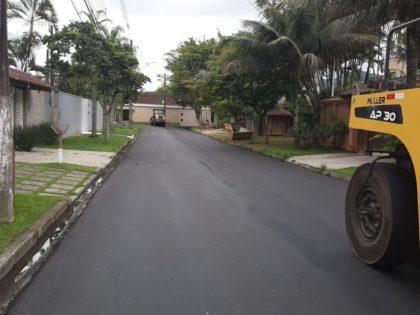 """""""Arrumando nossas ruas"""" contempla mais de 100 vias em Ubatuba"""