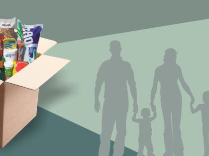 Confira locais de distribuição do segundo lote de cestas básicas do programa Alimento Solidário
