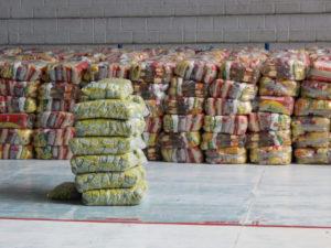 Assistência Social recebe cestas básicas adquiridas com recursos da Câmara Municipal