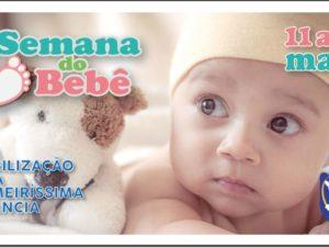 Comitê da Primeiríssima Infância realiza atividades online na Semana do Bebê