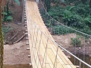 Prefeitura conclui ponte na Fazenda da Caixa