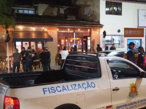 Prefeitura de Ubatuba e órgãos de segurança intensificam  fiscalização durante a pandemia