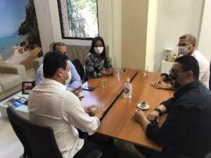 Deputado Altair de Moraes visita Ubatuba para conferir aplicação de emendas parlamentares