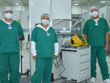 Prefeitura de Ubatuba realiza visita técnica para entrega de Hospital de Campanha