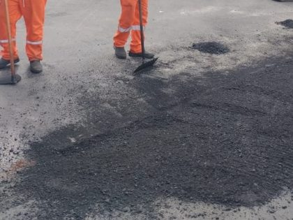 Tapa-buraco e zeladoria marcam serviços da Infraestrutura na última semana