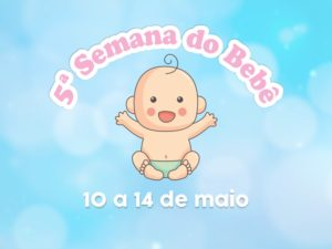 Ubatuba promove 5ª Semana do Bebê com programação online